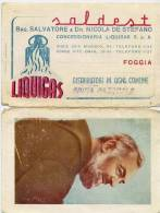 Calendarietto - Concessionaria Liquigas - Foggia 1953 - Calendriers
