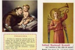 Calendarietto - Istituto Nazionale Gratuiti Per L'assistenza Ai Figli E Figlie Dei Carcerati - Roma 1962 - Calendriers