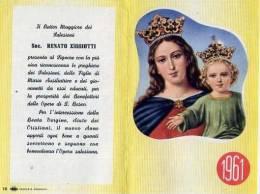 Calendarietto - Opera Di Don Bosco - Sac.renato Ziggiotti 1961 - Calendriers