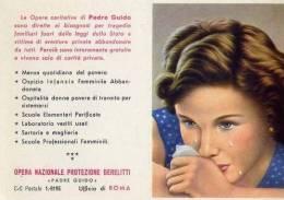 Calendarietto - Opera Nazionale Protezione Derelitti - Padre Guido - Roma 1961 - Calendriers