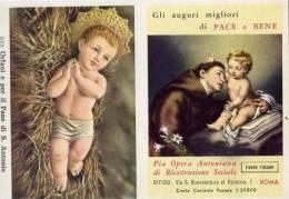 Calendarietto - Pia Opera Antoniana Di Ricostruzione Scociale - Padre Funao - Roma 1964 - Calendriers