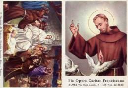 Calendarietto - Pia Opera Caritas Francescana - Roma 1964 - Calendriers