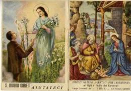 Calendarietto - S.maria Goretti - Roma 1956 - Calendriers