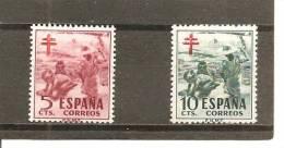 España/Spain-(MH/*) - Edifil  1103-04 - Yvert 824-25 - 1931-Hoy: 2ª República - ... Juan Carlos I