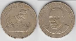 **** TANZANIE - TANZANIA - 200 SHILINGI 1998 SHEIKH KARUME **** EN ACHAT IMMEDIAT !!! - Tanzanie