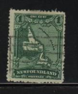 Newfoundland USED  Sc 145   Map - Newfoundland