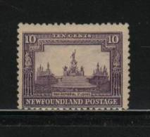 Newfoundland HINGED  Sc 179  No Gum  War Memorial - Neufundland