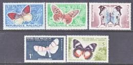 Madagascar  306-10  *    FAUNA  BUTTERFLIES - Madagascar (1960-...)