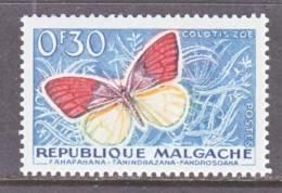 Madagascar  306 *    FAUNA  BUTTERFLIES - Madagascar (1960-...)