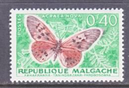 Madagascar  307 *    FAUNA  BUTTERFLIES - Madagascar (1960-...)