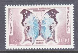 Madagascar  308  *    FAUNA  BUTTERFLIES - Madagascar (1960-...)