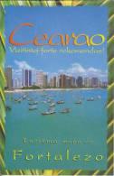 (BR) Brochure About Fortaleza (Brazil) In Esperanto - Broŝuro Pri Fortalezo (Brazilo) - Boeken, Tijdschriften, Stripverhalen