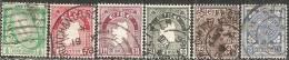 Irlanda 1922/40 Usato - N° 6 Valori - 1922-37 Stato Libero D'Irlanda