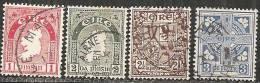 Irlanda 1922/40 Usato - N° 4 Valori - 1922-37 Stato Libero D'Irlanda