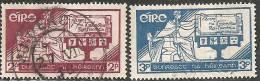 Irlanda 1937 Usato - Mi. 65/66 - 1937-1949 Éire