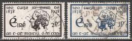 Irlanda 1938 Usato - Mi. 67/68 - 1937-1949 Éire