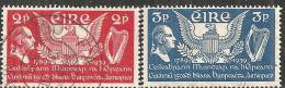 Irlanda 1939 Usato - Mi. 69/70 - 1937-1949 Éire