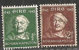 Irlanda 1943 Usato - Mi. 91/92 - 1937-1949 Éire