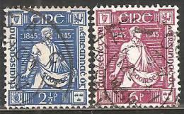 Irlanda 1945 Usato - Mi. 96/97 - 1937-1949 Éire