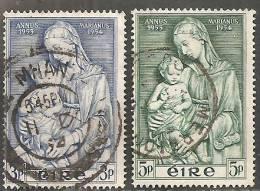 Irlanda 1954 Usato - Mi. 120/21 - 1949-... Repubblica D'Irlanda