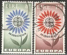 Irlanda 1964 Usato - Mi. 167/68 - 1949-... Repubblica D'Irlanda