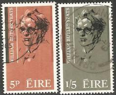 Irlanda 1965 Usato - Mi. 172/73 - 1949-... Repubblica D'Irlanda
