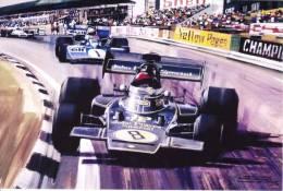 Ronnie Peterson - JPS Lotus - British GP  - Michael Turner Artwork -   Postcard China - Grand Prix / F1