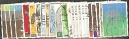 Irlanda 1981 Usato - Mi. 433/36; 439/46; 448/53; 455/59  N°23 Valori - 1949-... Repubblica D'Irlanda