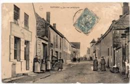 ROMAIN - La Rue Principale / CPA Animée - Otros Municipios