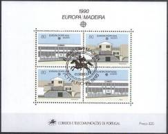 MADEIRA MI-NR. Block 11 O Used - CEPT 1990 (111) - 1990