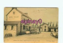 Br - 03 - TREZELLES - Hotel Terminus Et La Gare - Attelages Boeufs - édit. Tocant - - France