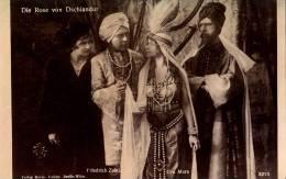 CINÉMA ANCIEN : LYA MARA & FRIEDRICH ZELNIK - FILM : DIE ROSE VON DSCHIANDUR (1918) - VERLAG HERM. LEISER BERLIN (n-393) - Schauspieler