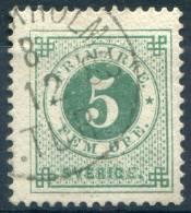 Y&T  N° 18 (o)...perf 13 - Sweden