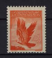 Liechtenstein Nr. 144 y ** postfrisch Fingerspur