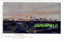 SPITZBERGEN-Reise Mit Dem Polarfahrer Capt. BADE. WISMAR I. Mecklbg. - 3019 - H.B.WIELAND Der HORNSUNDS Plk.?. - Norwegen