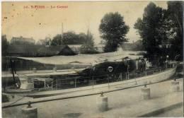 51 REIMS LE CANAL BATEAU - Reims