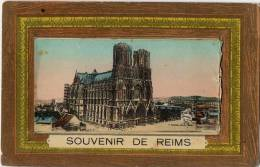 51 REIMS SOUVENIR CARTE A SYSTEME MULTIVUES - Reims