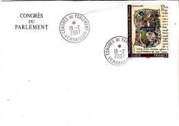 LSI 4019 Enveloppe+cachet Congrès Du Parlement - Marcophilie (Lettres)