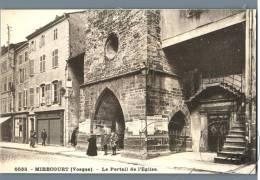 Mirecourt - Le Portail De L'Eglise - France - Mirecourt