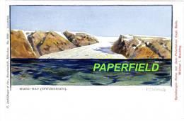 SPITZBERGEN-Reise Mit Dem Polarfahrer Capt. BADE. WISMAR I. Mecklbg. -3026 - H.B.WIELAND - Wijde-Bay - Norwegen