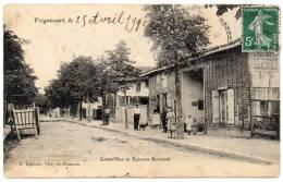 FRIGNICOURT - Grande Rue Et Epicerie Bertrand - Otros Municipios