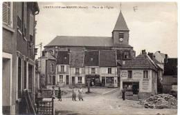 CHATILLON SUR MARNE - Place De L'Eglise - Châtillon-sur-Marne