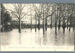 Paris - Inondations De Paris 1910, Aux Champs Elysees, Restaurant Ledoyen - France - Überschwemmung 1910