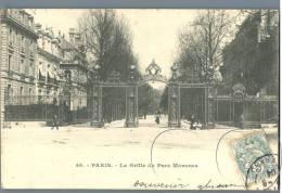 Paris - La Grille Du Parc Monceau - France 1900s - Parks, Gärten