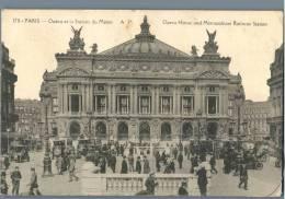 Paris - Opera Et La Station Du Metro - France - Plätze