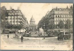 Paris - Perspective De La Rue Soufflot Et Du Pantheon - France - Plätze