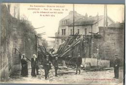 Guerre 1914-17 - Luneville - Pont Du Chemin - France - Weltkrieg 1914-18
