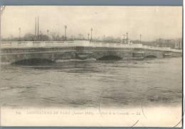 Paris - Inondations De Paris 1910, Pont De La Concorde - France - Überschwemmung 1910