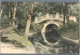 Paris - Parc Monceau, Le Pont - France - Parks, Gärten