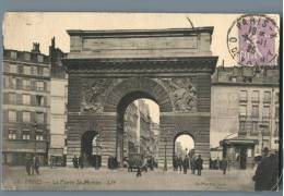 Paris - La Porte St-Martin - France 1920s - Plätze